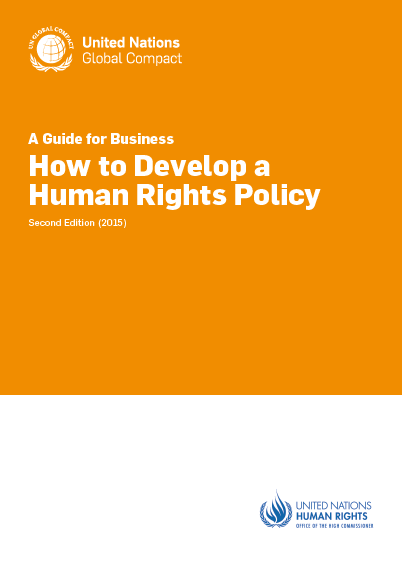Advanced_Policy_UNGC Guide How to develop a human rights policy